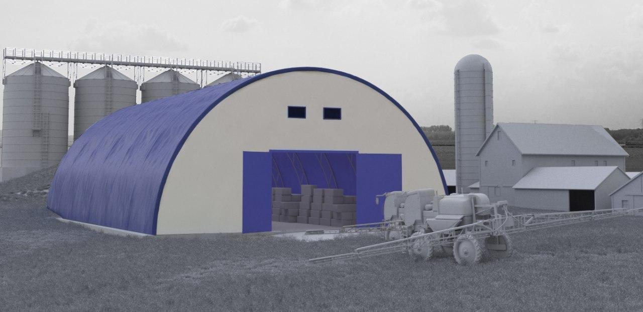 Сельскохозяйственные сооружения