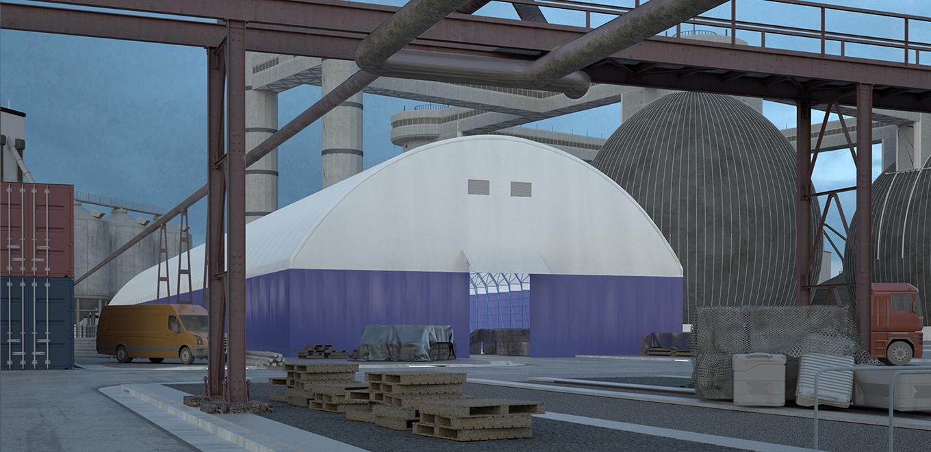 Промышленные сооружения