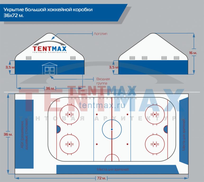 Большая хоккейная коробка