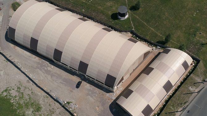 Спортивный комплекс (2 ангара)