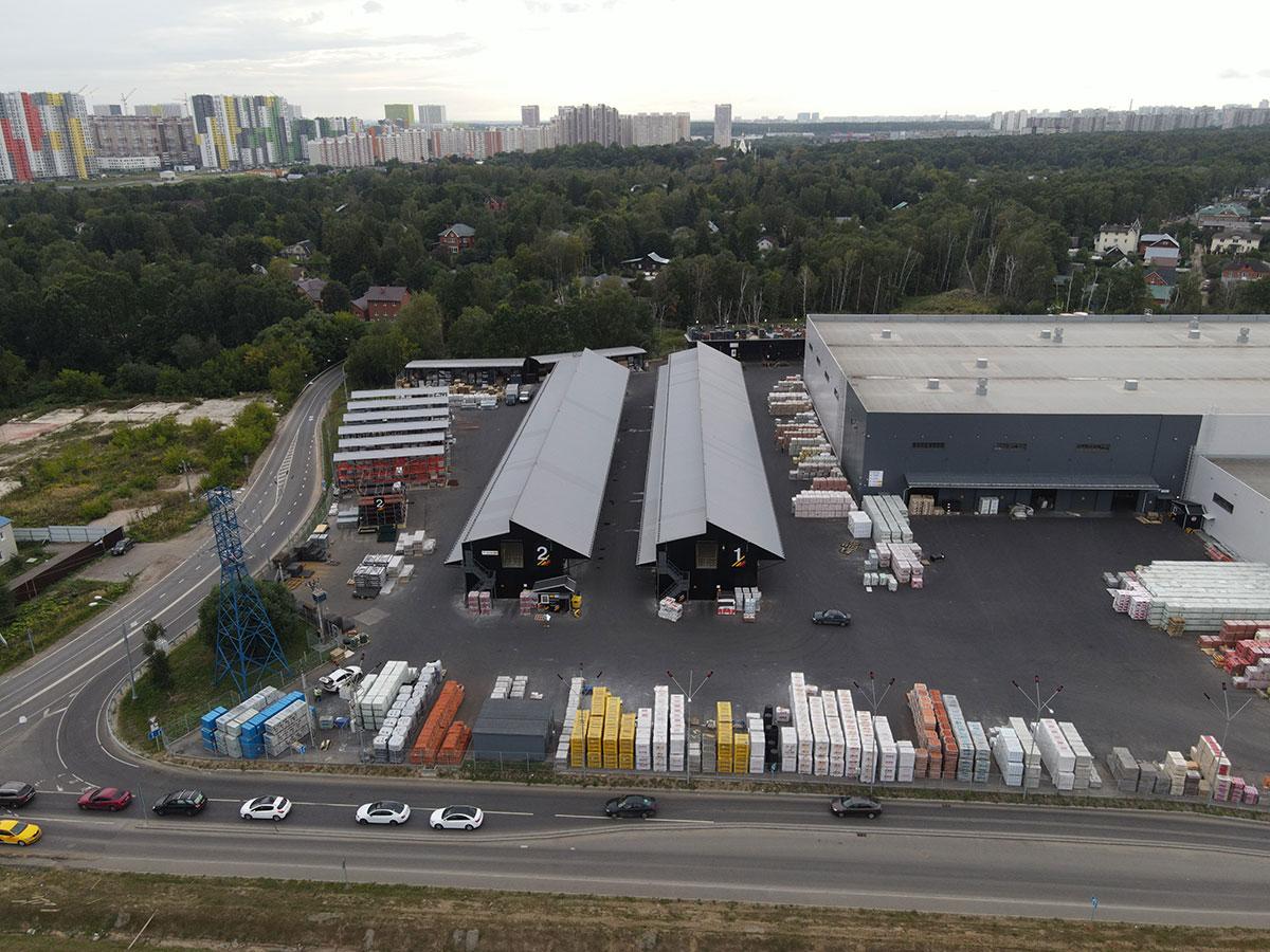 Размеры быстровозводимых промышленных сооружений: ширина и высота