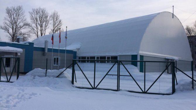 Каркасно-тентовый спортивный комплекс